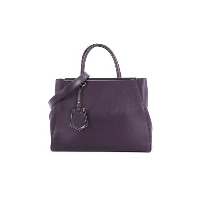 2Jours large leather tote